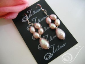 Alicia Pearl Cluster Earrings E039-08