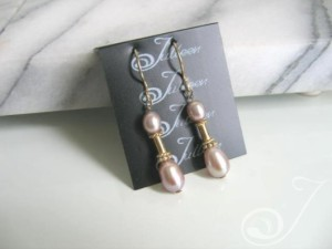 Andrea Pearl Cluster Earrings E047-20A