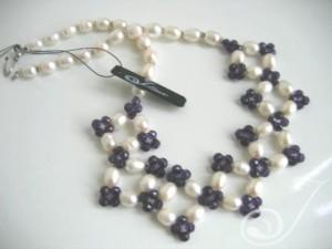 Brigitte Amethyst Necklace VO027