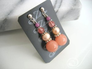Celia Pearl Cluster Earrings E026-27