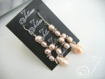 Fairy Floss Cluster Earrings E039-09