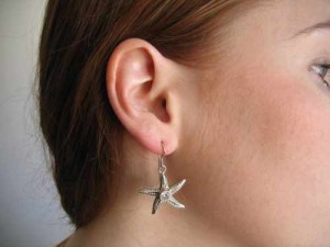 Star fish earring