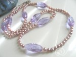 Lavender Mist Necklace VNDO044