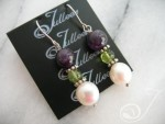 Liza Pearl Cluster Earrings E017-108