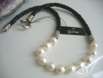 Liza White Deluxe Necklace LB100E-01