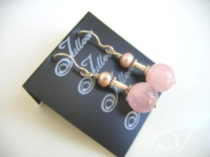 Sharon Pearl Cluster Earrings E027-39