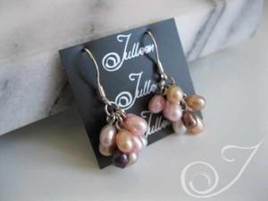 So Sweet Cluster Pearl Earring ECP001