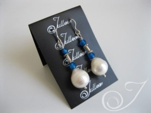 Cali Pearl Drop Earrings E037.45