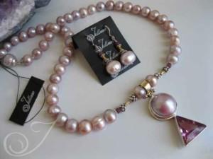 Ms Munro necklace & Earrings Set JD123.02.SET