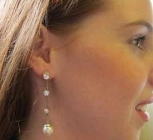 Wedding Pearl Earrrings