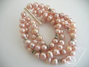 Heavenly-Pink-Pearl-Cuff-Bracelet-BR005