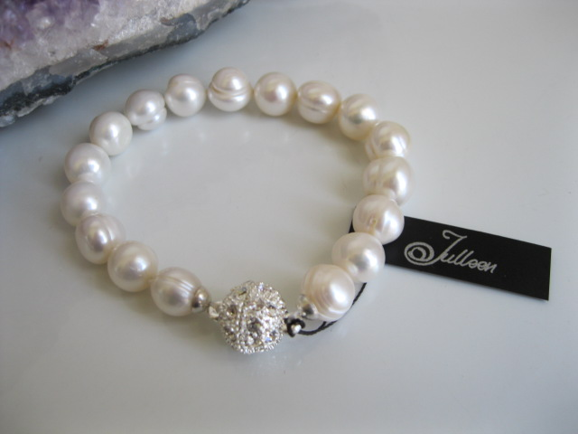 Classical White Pearl Bracelet Pearl Jewellery