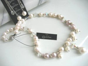 White Bridal Necklace