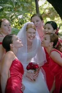 red them wedding