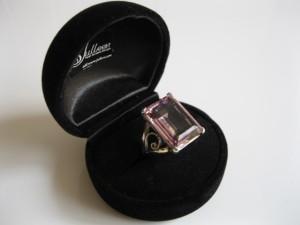 Pink Cocktail Ring